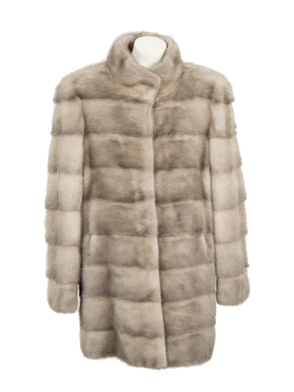 Abrigo de piel de vison precio